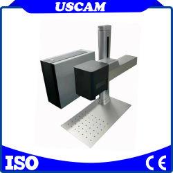 التعرف على عدة عناصر باستخدام أداة التحلية بالليزر الليفية CNC للنظام المرئي وضع علامة مرئي للماكينة