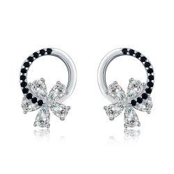 925 Silver стерлингов мода украшения AAA кубический циркон женщин подарок серьги