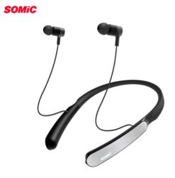 Sc1000 Somic Sports tour de cou Bluetooth écouteurs avec suppression du bruit active