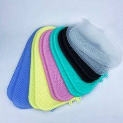 Usine de couvre-chaussures Bottes de pluie en silicone étanche habillage pluie Slip-Resistant personnalisé de qualité