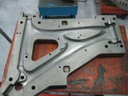 Personalizar el estante de bicicleta de fibra de carbono EPS perdido molde de fundición de piezas que