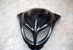 Casco de seguridad de motocicletas de fabricación de piezas de plástico