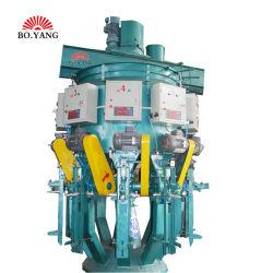 Boyang 8-Mouth Cement Dry 모르타르 로터리 포장 기계