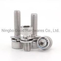 DIN933 Mil. Технические характеристики. 18-8 корпус из нержавеющей стали с шестигранной головкой и болты крепления головки блока цилиндров