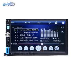 Auto-radio 2 DIN 7''HD de pantalla táctil del teléfono Bluetooth Radio Stereo MP3/MP4/MP5 Player