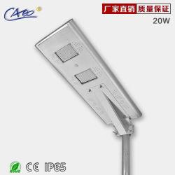 El precio bajo luz solar calle LED de batería de litio y de largo tiempo de iluminación brillante