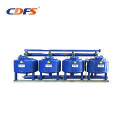 Trattamento delle acque industriale manuale del filtro a sacco