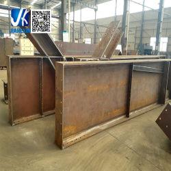 A992 A572 Q345 Baustahl-Träger-Herstellung schweißte heißen eingetauchten galvanisierten Stahlplatten-Träger für Stahlkonstruktion-Brücke