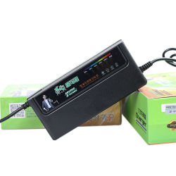 Наилучшее соотношение цена 48V свинцово-кислотного аккумулятора зарядное устройство для скутера Ebike и EV