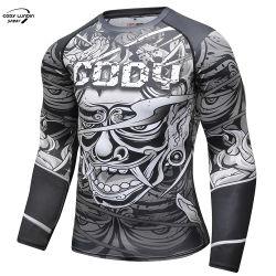 Cody Lundin Logotipo de la impresión de ropa deportiva de los hombres Camiseta manga larga ropa de golf