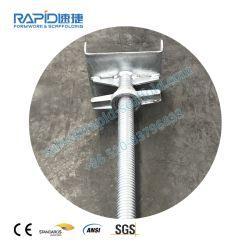 Galvanizado en caliente andamio rápido Q235 Andamios de acero U Gato de tornillo para el sistema Ringlock