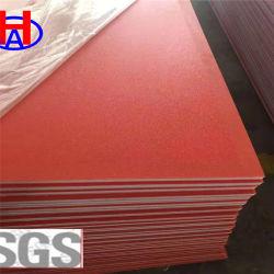 고품질 Red 방화 고밀도 폴리에틸렌 HDPE 시트 프로모션