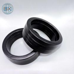 NBR Caoutchouc avec tissu Vee Ensemble d'emballage Joints hydrauliques