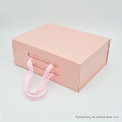 Contenitore impaccante di carta di regalo di lusso di modo per gli indumenti e coprire