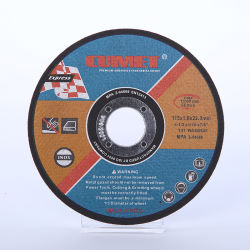 4.5''режущий диск для нержавеющей стали Inox металлических абразивных материалов