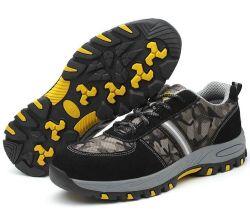 安い鉄の広州の鋼鉄つま先の銘柄の安全靴