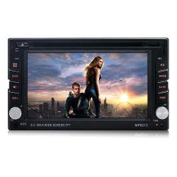 6.2 polegadas sensível ao toque no tablier carro Bluetooth receptor de DVD 12V