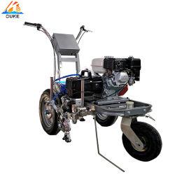 Китай поршневого насоса 160 газовым двигателем роскошь Машины дорожной разметки