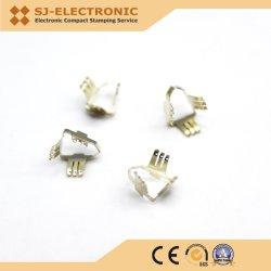 導電性端子ソケット / プラグ / ケーブル用プログレッシブプレススタンピング部品