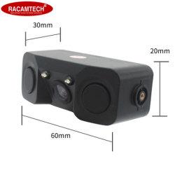 Ver vídeo el sensor de aparcamiento trasero 3 en 1 Alquiler de cámara y sensor de 2 con alarma