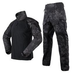 Polyester coton formation militaire de camouflage de plein air respirable uniforme de combat tactique G3