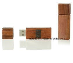 Lápiz de memoria Flash USB de madera conductor