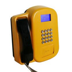 De nouvelles idées de produits Outdoor murale téléphonique VoIP Payphone 3G/4G RFID publiphones Carte SIM La carte