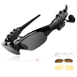 Heißer Sonnenbrille-Kopfhörer-Kopfhörer Bluetooth drahtlose Musik-Sonnenbrillen kompatibel mit iPhone Samsung Fahrwerk und intelligenten Telefonen