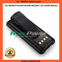 Radio à deux voies batterie Maxon CAC200 pour Maxon Sp300/sp310/sp320/sp330/sp340 Radio portable