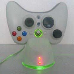 وحدة تحكم لاسلكية الشحن في Xbox360