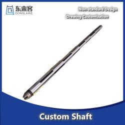 قطع غيار تشغيل ماكينات CNC عالية الدقة قطع غيار محرك تلقائي لعمود الترس الأجزاء