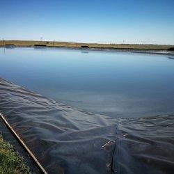 침투방지 플라스틱 필름 0.5/1/2mm HDPE/LDPE/LLDPE 거미네어 라이너 풀 레이크 강 아쿠아컬쳐 댐으로