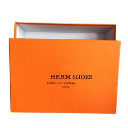 包装製造カスタムメイドカラープリント高級ハイヒール紙 ロゴ入りシューズボックス