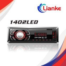 De Radio van de LEIDENE Auto van de Vertoning met 2 12V de Stereo-installatie van de Auto van de FM BR TF van het Auxine USB MP3