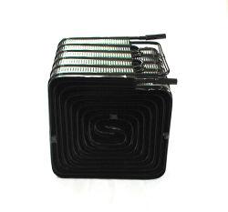 Kühl-Gefrierschrank, Schaukasten, Rohrplattenkondensator