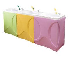 Banheira de bebé hidromassagem fibra de vidro para venda crianças lactentes chuveiro de hidromassagem