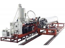 أنابيب بلاستيكية بالقربة بروز ماكينة صنع الأنابيب لقطر كبير