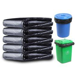 Grote zwarte plastic vuilniszakken Industriële vuilniszakken