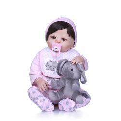55cm renacer de silicona Super bebé niño bebé Bonecas realismo Kid muñeca bebé reborn Brinquedos renace juguetes para niños regalos