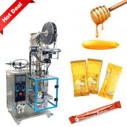 Full automatic 5g 10g 15g pequena bolsa sachê de mel líquido Stick máquina de embalagem