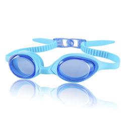 Venda a quente e calções de banho mais barata de Silicone Anti-Fog Super Kids engraçado óculos de natação