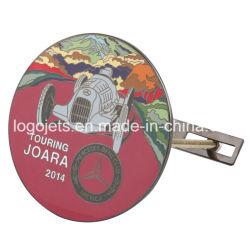 Alta qualidade de design exclusivo logotipo personalizado Metal Carimbo de latão cromado emblemas de carros emblemas automático para a promoção