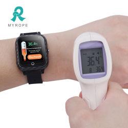 دعم [بودي تمبرتثر] قياس [تووشسكرين] [غبس] جهاز تتبّع شخصيّة ذكيّة سوار ساعة [غبس] جهاز تتبّع