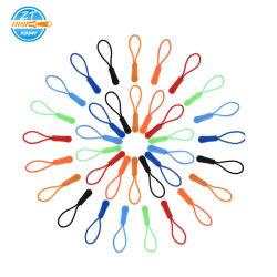 의류 액세서리 다양한 색상의 PVC Zipper Head Puller for Sport 옷