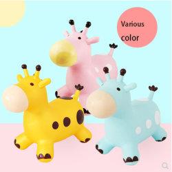 Speelgoed van pvc van kinderen het Favoriete Opblaasbare, het Springen het Dier van de Sprong, het Springen Paard