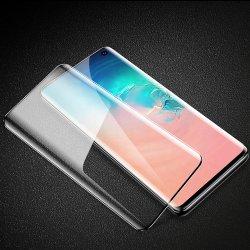 곡면 프리미엄 UV 강화 유리 10d 3D 탄소 섬유 뒷면 스마트폰 Samung/Huawei용 커버 스크린 보호 필름