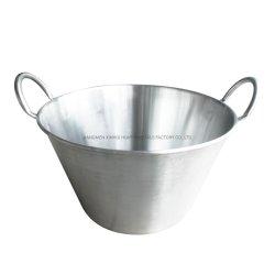 Carnitas Panzaの調理器具セットのために適したステンレス鋼のCazosの大きく深いフライパン