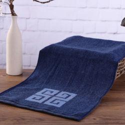 Custom пряжи Вся обшивочная ткань из жаккардовой ткани с логотипом 100% хлопок махровые полотенца спорт