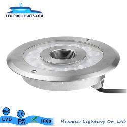 Edelstahl-Unterwasserbrunnen-Licht der Leistungs-LED 316
