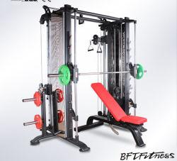 Karosserien-Gebäude-Gymnastik-Gerät/Eignung-Gerät für multi Kabel-Überkreuzung und Smith-Maschine